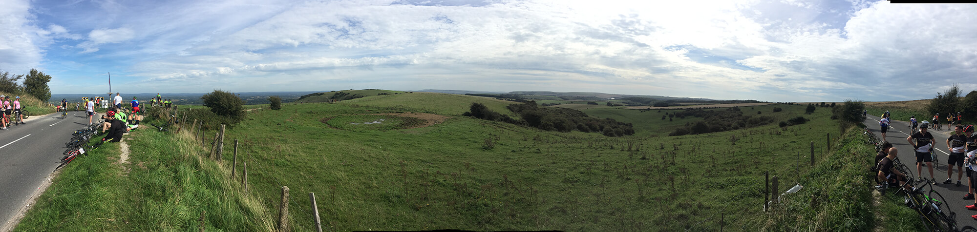 Ditchling Beacon pano
